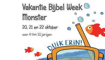 Vakantie Bijbel Week Monster: Duik er in!